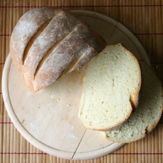 Rustic White Farmhouse Bread Recipe