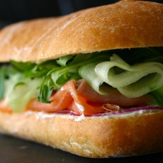Smoked Salmon Cucumber Sandwich Recipe