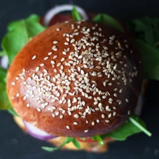 Onion Brioche Burger Bun Recipe