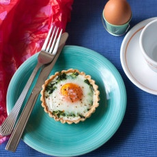Egg & Spinach Tartlet Recipe