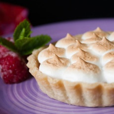Raspberry Meringue Tart Recipe