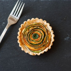 Spiral Vegetable Tart Recipe