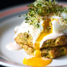 Baked Courgette Zucchini Fritters Recipe