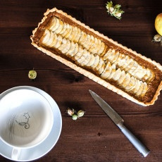 Apple & Hazelnut Frangipane Tart Recipe