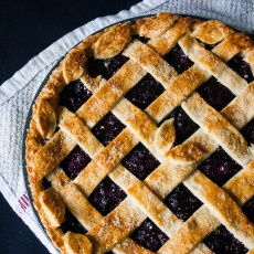 Lattice Blueberry Pie Recipe