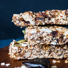 Sugar free healthy granola bars