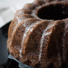 Sticky ginger cake is a perfect cake for christmas